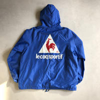 ~90s le coq sportif Nylon Hooded Coach Jacket