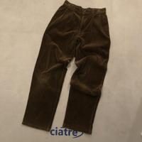 Old Corduroy wide Tack Pants