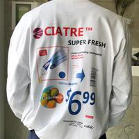 ciatre super fresh tee L/S