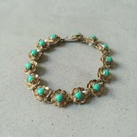Old Silver Stone Bracelet