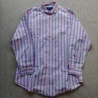 Ralph Lauren L/S Stripe Shirt PNK