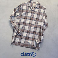 60s VAN HEUSEN  check shirt