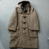 70s GLOVERALL Melton Duffle Coat BEG
