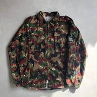 Swiss Army Alpine Camo Zip-Up Shirt