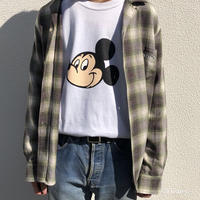 ciatre / Mickey face Long sleeve Tshirts