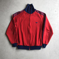 80s adidas Track Jacket Red