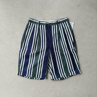 LACOSTE Stripe Shorts GRN