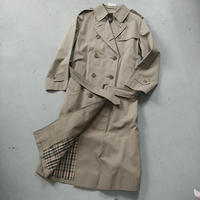 DAKS Trench Coat Drakkar Cloth
