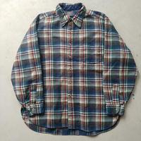 60s Pendleton Wool Check Shirt BLU