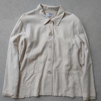 90s Baxter Wells Rayon Linen Jacket NTR
