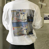 ciatre kitchen tee L/S WHT