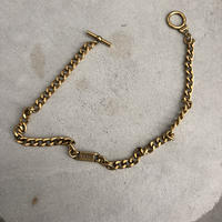 DKNY Double Gold Chain Bracelet