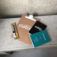 ciatre ×penco stationery set