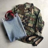 80s U.S.ARMY Woodland Camo Combat Jacket
