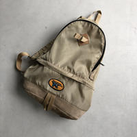 80s WILD GOOSE Suede Bottom Back Pack