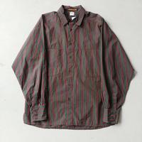 90s MARITHE FRANCOIS GIRBAUD Stripe L/S Shirt