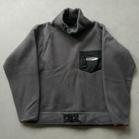 90s FILA Fleece Pullover KHK