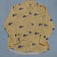 90s NAUTICA L/S Flag Shirt