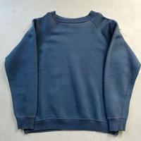 60s~ Freedom Sleeve Sweat Shirt Navy