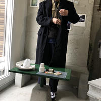 Old Salvatore Ferragamo Wool Chester Coat