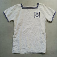 French Navy Linen Sailor Shirt