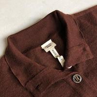 """90s~ HERMES Cashmere Henry Neck Knit """"Margiela, les années Hermès"""""""