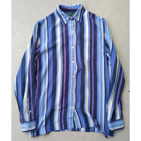 90s LAUREN Ralph Lauren L/S Silk Shirt