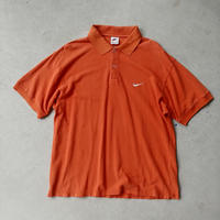 90s NIKE S/S Polo Shirt ORG