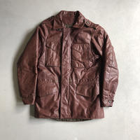 60s~ M-65 Leather Field Jacket