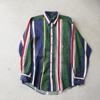 90s NAUTICA Stripe L/S Shirt