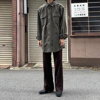 old carhartt cotton shirt KHK