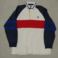 90s TOMMY HILFIGER L/S Rugger Shirt