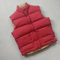 70s~ WOODS Down Vest RED