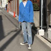 60s  Izod of london  cardigan BLU