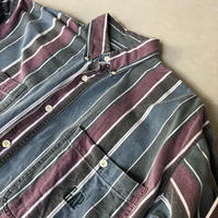 90s GAP L/S Stripe BD Shirt