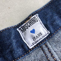 90s MOSCHINO 5P Denim Pants