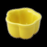 イエロー(5㎝)梅形珍味    く09-030-22 寸法:5φ×3H㎝ 40g