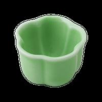 ヒワ(3.5㎝)梅形豆珍味    く09-030-27 寸法:3.5φ×2.5H㎝ 40g