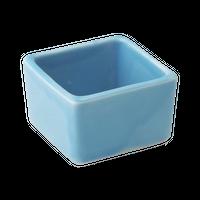 トルコ釉 角形豆小丼    く09-029-09 寸法:4×4×3H㎝ 40g