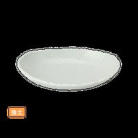 (強)NRホワイト 5.0楕円ボ-ル    く09-012-08 寸法:15×11×3H㎝ 200g