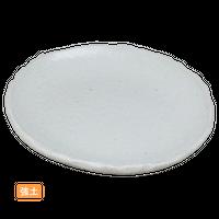 (強)NRホワイト 5.5取皿    く09-076-09 寸法:16×14.5×1.5H㎝ 200g