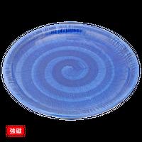 (強)ごす巻(布目)7.0丸皿    く09-070-24 寸法:21φ×2.5H㎝ 500g