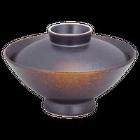 やきしめ 大茶    く09-110-05 寸法:15φ×10.5H㎝ 450g