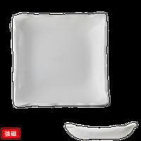 (強)ニューボン 四方上り20㎝皿    く09-058-24 寸法:20×20×4H㎝ 600g