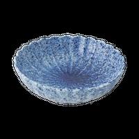 吹墨 菊形平鉢    く09-033-08 寸法:11.5φ×3.5H㎝ 120g