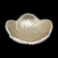 銀 梅平珍味皿    く09-027-02 寸法:6×6×1.5H㎝ 25g