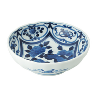 岩牡丹 RI多用鉢    く09-012-29 寸法:φ16.5×5.5cm 360g