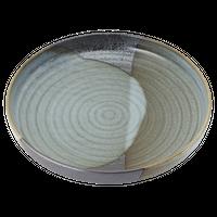 山がすみ 石目10.0盛鉢    く09-062-35 寸法:31.5φ×6H㎝ 1550g
