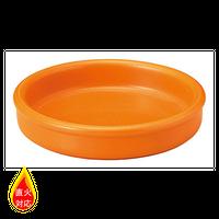クラシック グロス オレンジ 14.5cmタパス    496-19951094 寸法:14.5φ×3.7H㎝