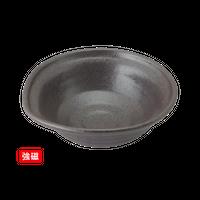 (強)黒南蛮 5.0片口鉢    く09-009-15 寸法:16×15×6.5H㎝ 360g